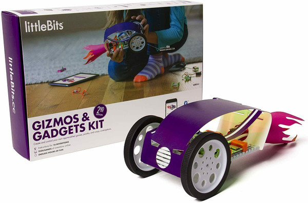 LittleBits - Gizmos & Gadgets Inventor Kit (2nd Edition) English