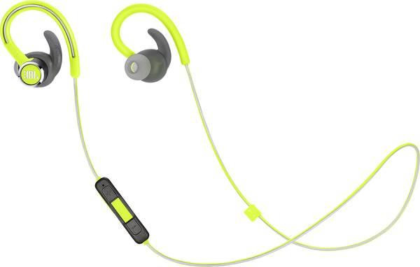 JBL Reflect Contour 2 Bluetooth In-Ear Sports Secure Fit Headphones - Green