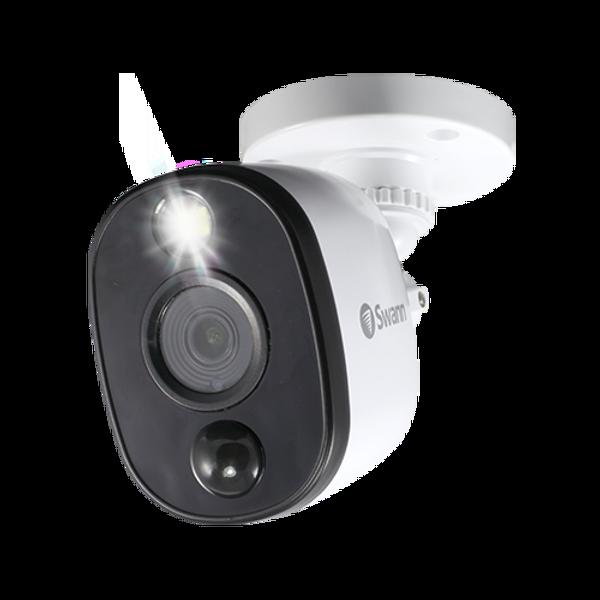 Swann PRO-1080MSFB - 1080p Thermal Sensing Warning Light Bullet Security Camera