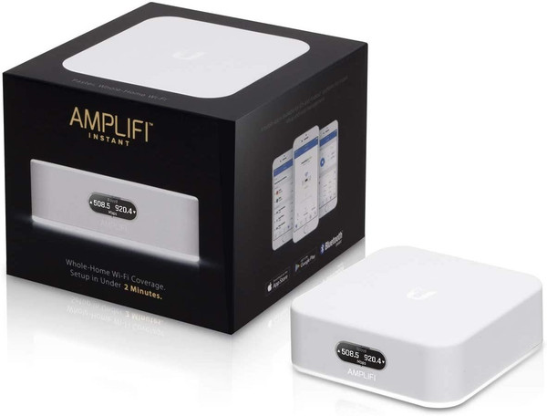 AmpliFi Instant Home WiFi Mesh Router - AFI-INS-R (UK Version with UK PSU) - Open Box
