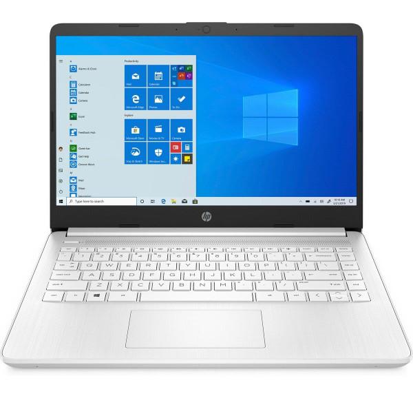 "HP 14s-fq0005na, AMD Ryzen 3 3250U, 4GB, 128GB SSD, 14"" Laptop White"