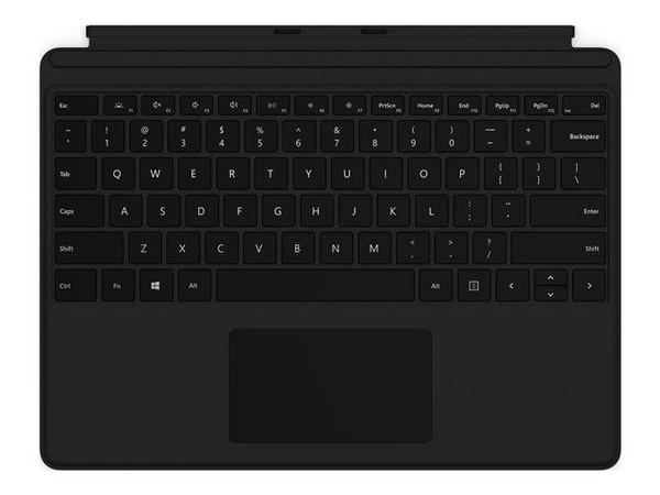 Microsoft Surface Pro X QWERTY Keyboard With Trackpad - UK Black