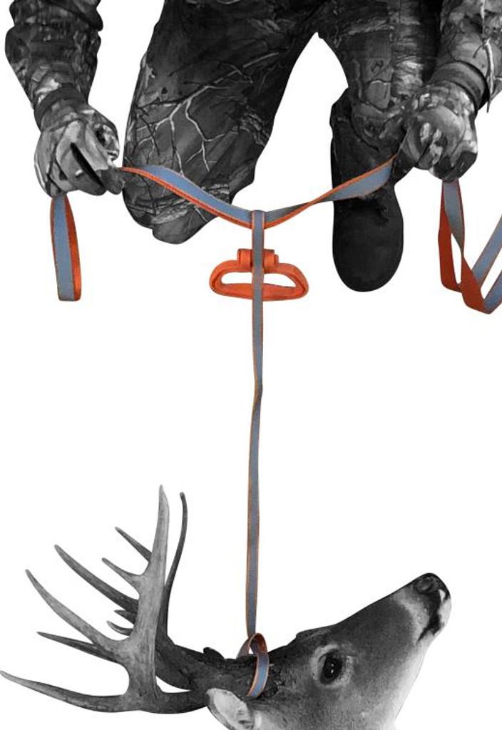 deer drag harness, deer handle, deer drag, deer drag and harness, 5 ways to handle a deer in one product