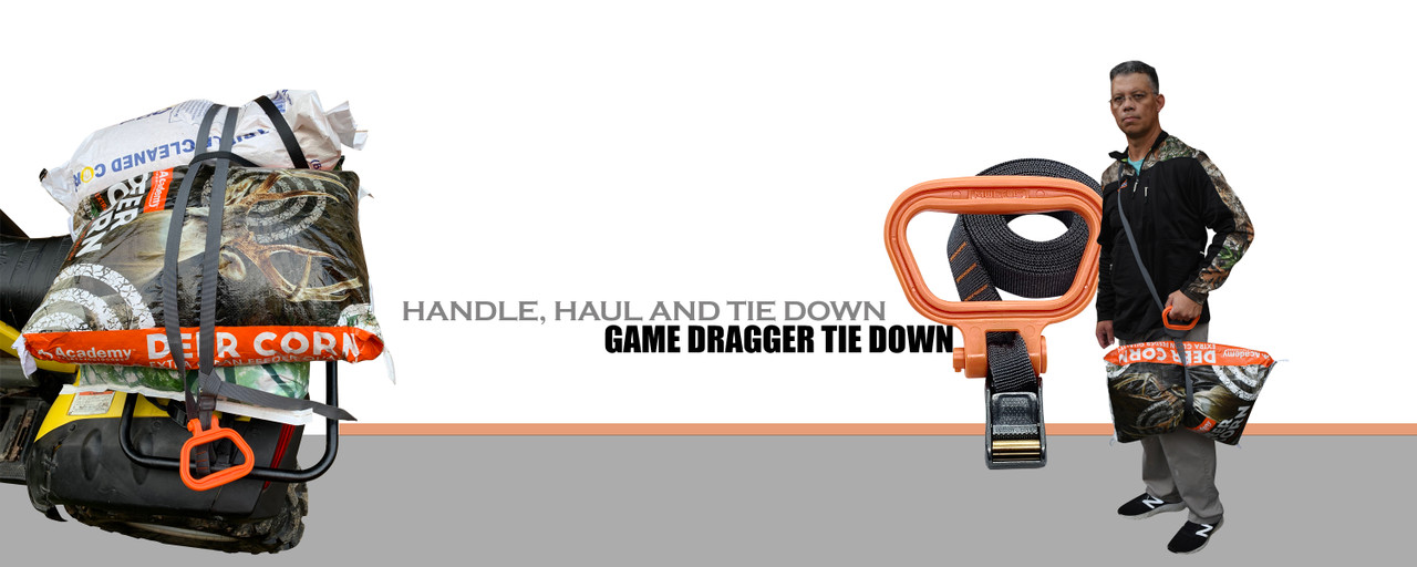 Game Dragger Tire Down