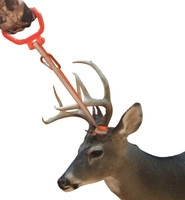 Back saver and hand saver deer handle allows best position when pulling, dragging, or lifting to reduce common injuries