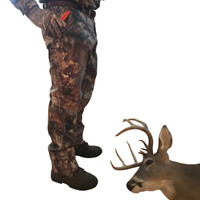 Deer handle to drag fits in your pocket