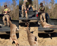 Deer drag make it easier for one man or woman to pull deer up a hill or into a truck