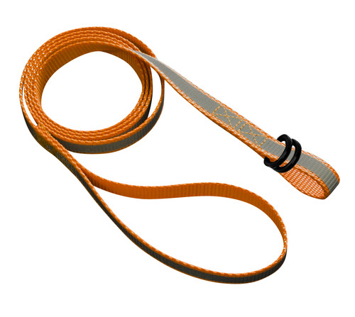 4 Foot Reflective Orange Dual Loop Strap