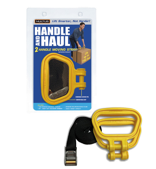 Handle And Haul 2 Handle Moving Strap in Yellow