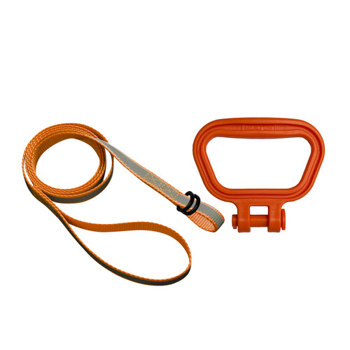 Universal Dog Leash Handle in Orange
