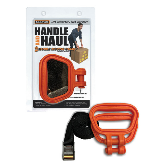 Handle And Haul 2 Handle Moving Strap in Orange