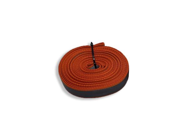 6.5 Foot Reflective Orange Harness Loop Strap