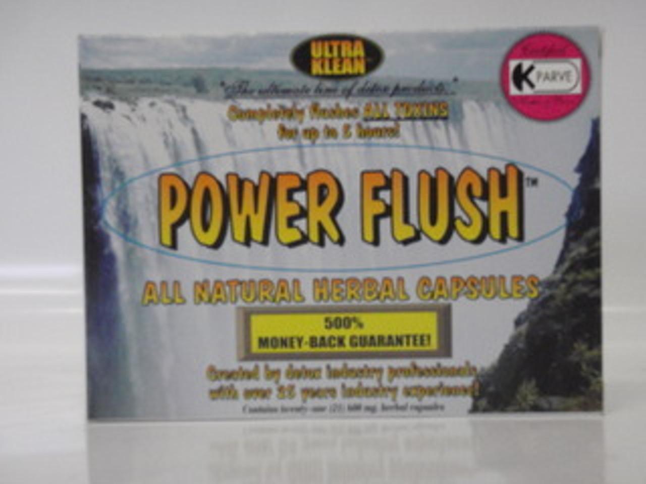 Power Flush capsules