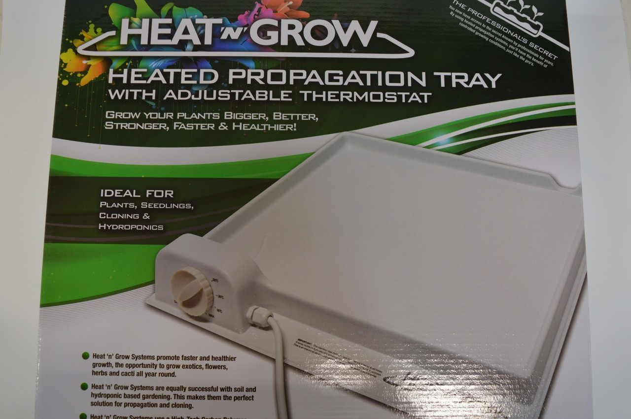 Heat and Grow Single Tray inc Thermostat