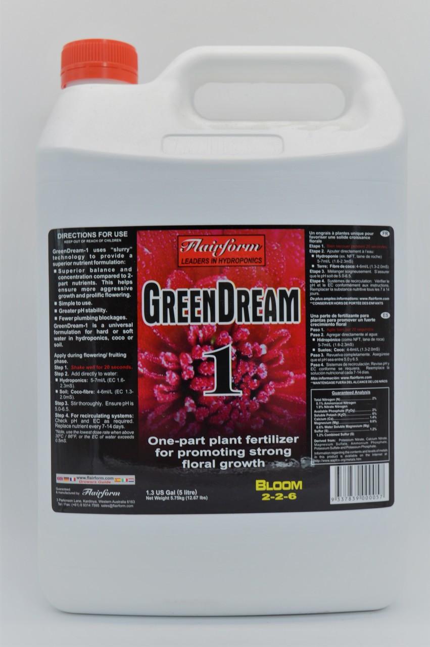 Greendream Single 5L Flower