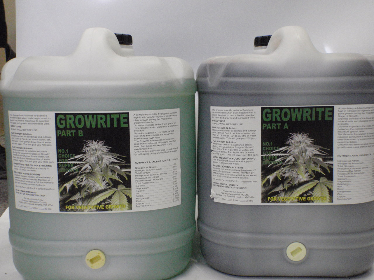 Growrite 20L Grow