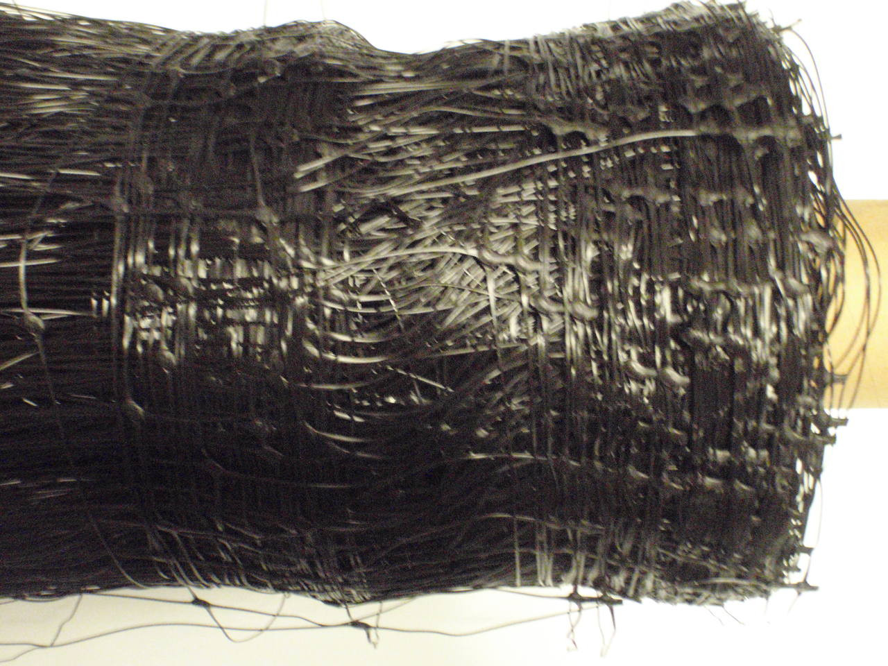 Black Net 2m Wide 100ml Square