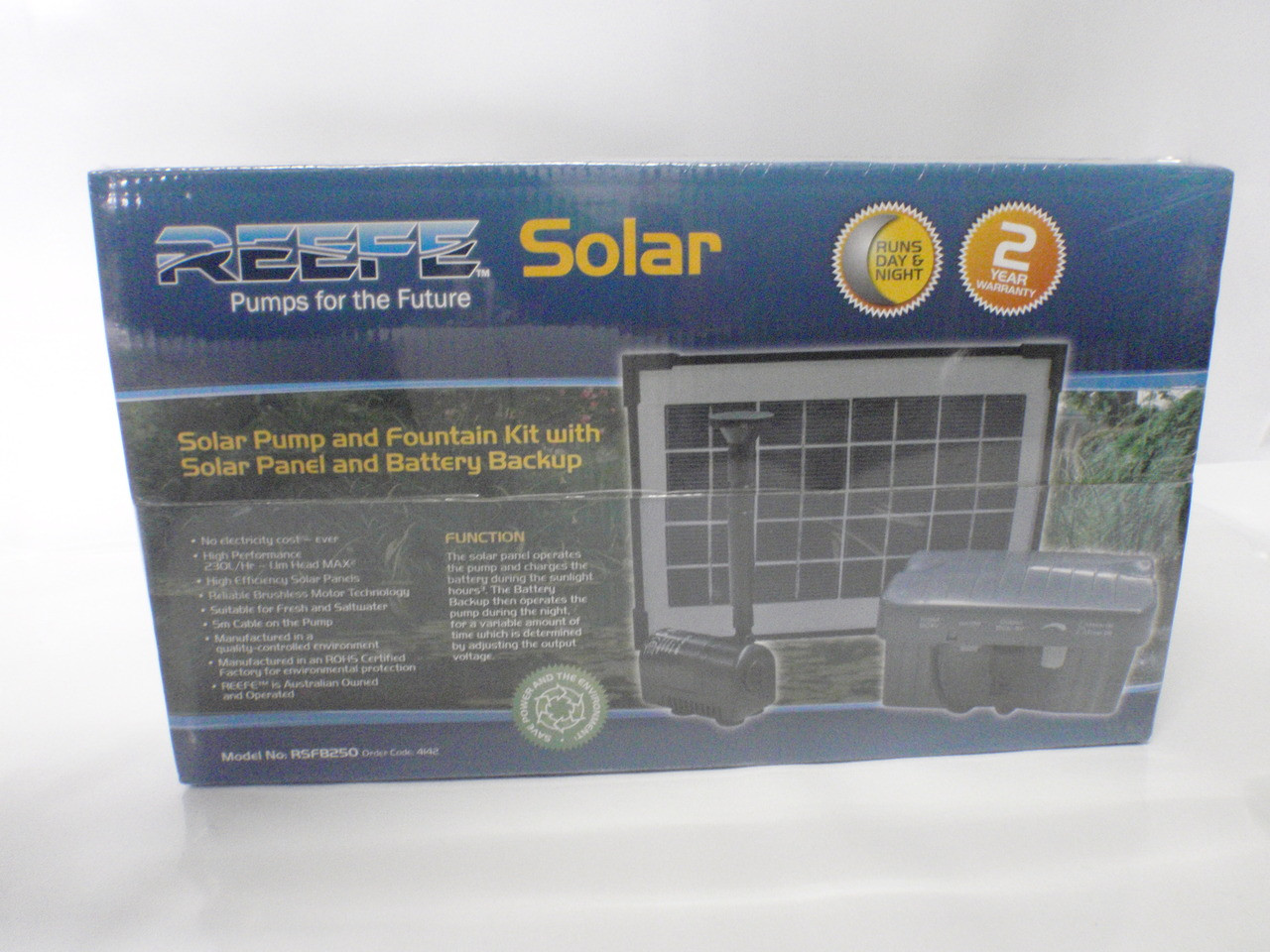 Reefe Solar Power Water Pump 230l/h