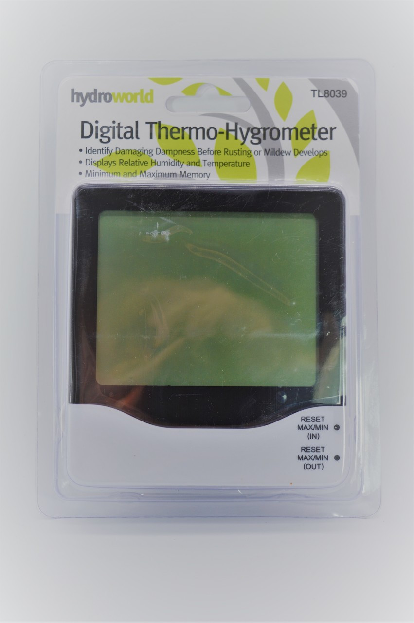 Hydroworld Temp/Humidity Meter Dual zone Temp and humidity