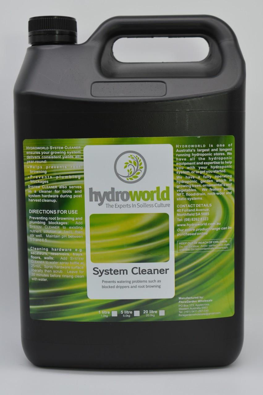 Hydro World System Cleaner 5L