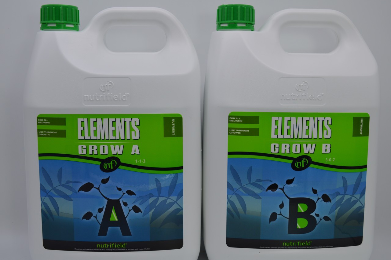 Nutrifield Elements 20L A+B Grow