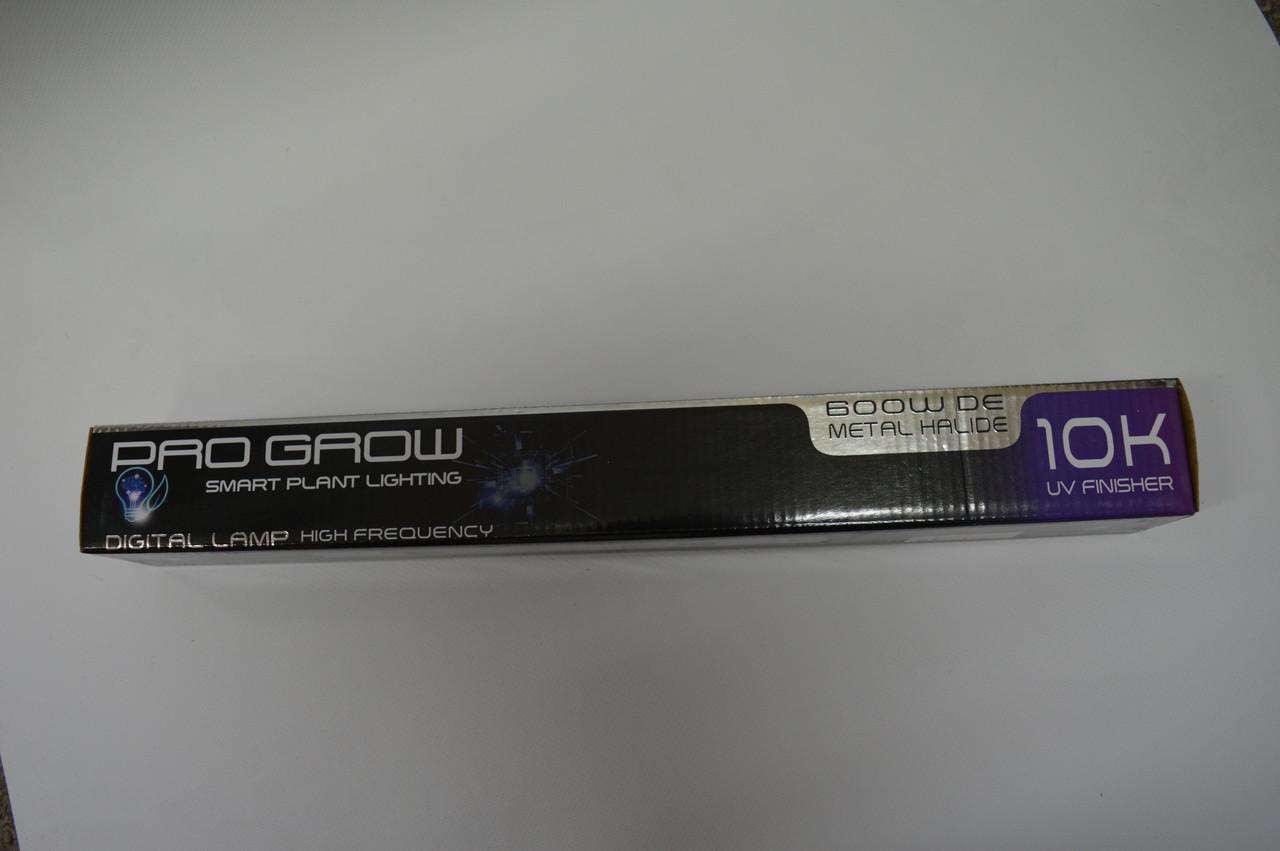 Pro Grow 10K Metal Halide 600w DE Lamp