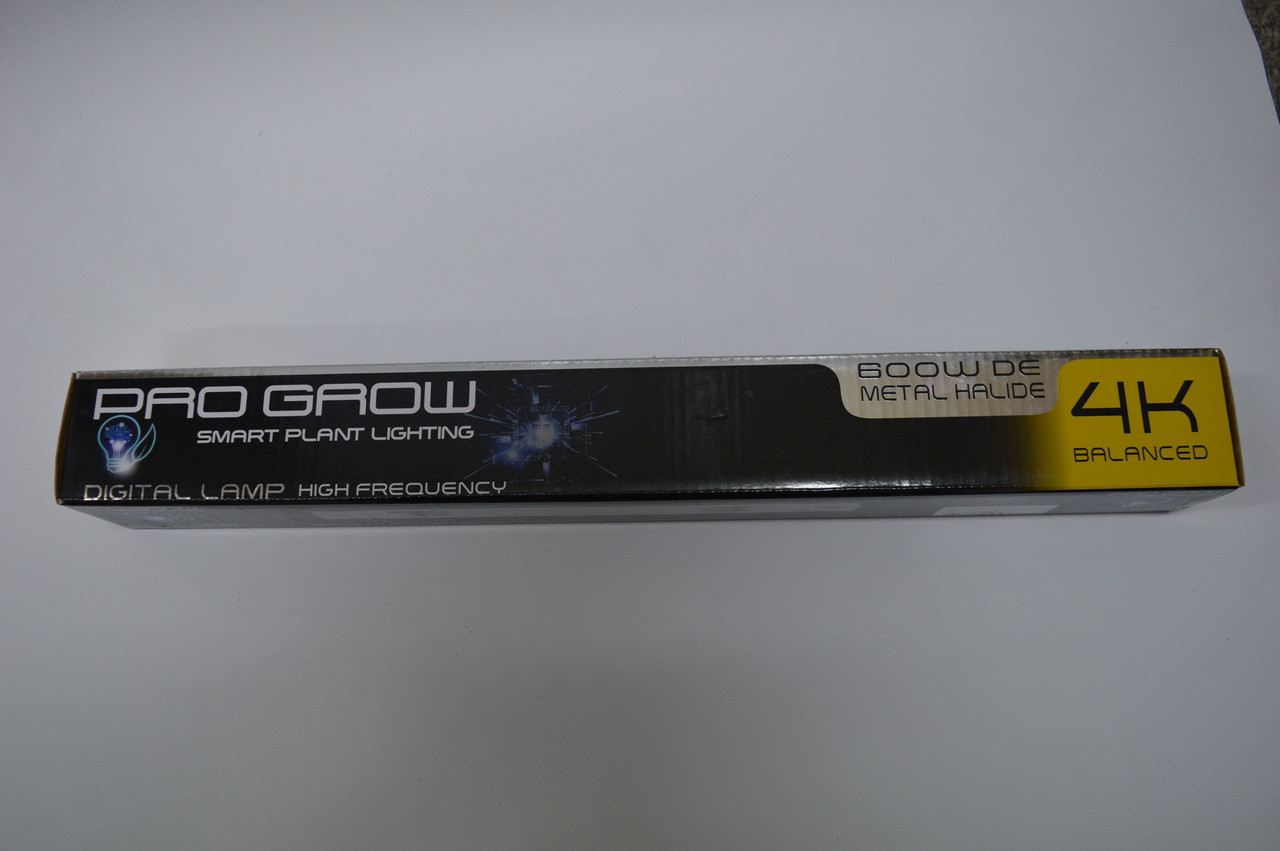 Pro Grow 4K Metal Halide 600w DE Lamp