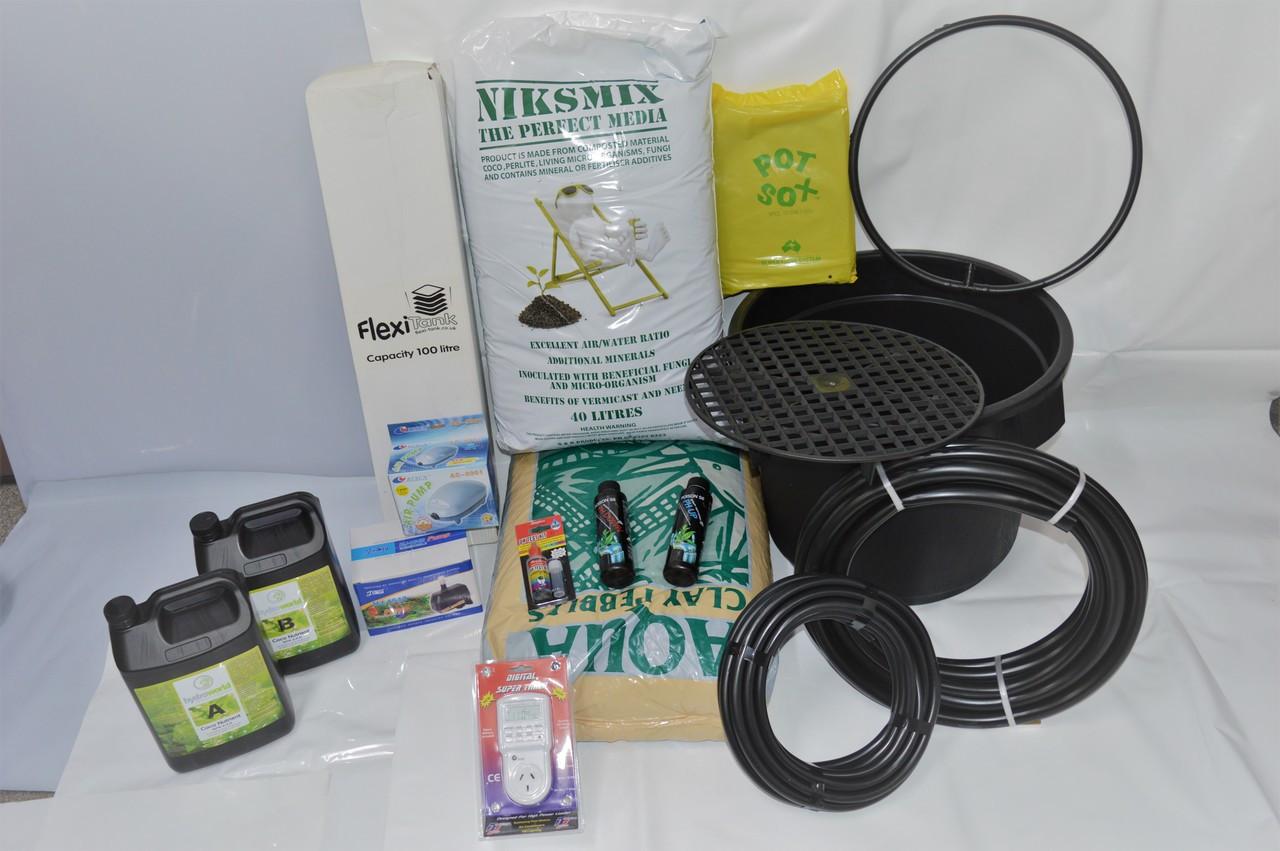 4 Pot system 30L kit