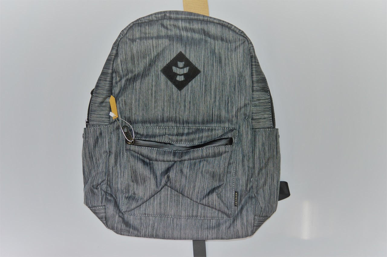 grey/black stripe  Revelry Escort back pack