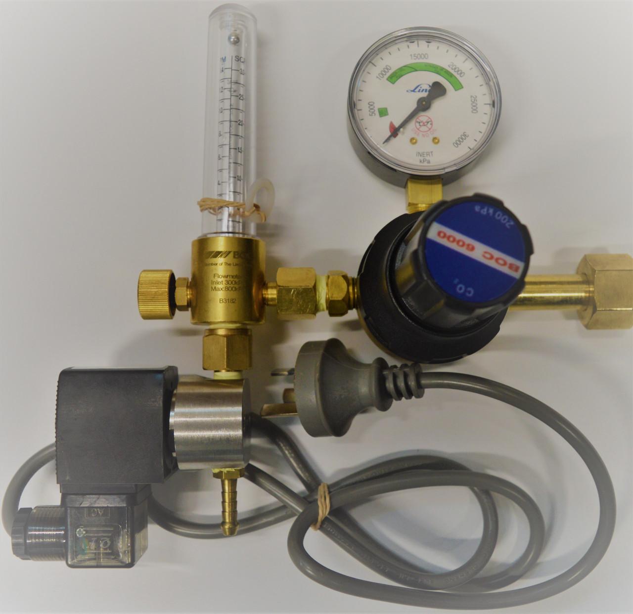 Co2 Flow Meter and Regulator