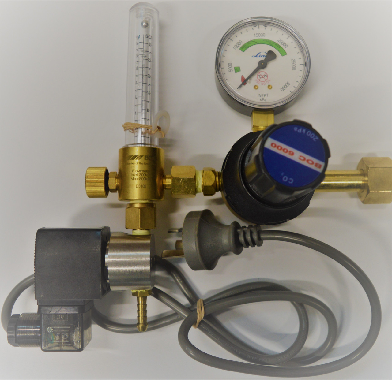 Co2 Flow Meter and Regulator