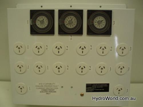 Ezi-Grow Timer 18 80 Amp 3 Phase