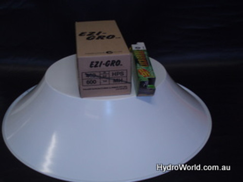 600w hps Small Deep Bowl Ezi-Grow Ballast