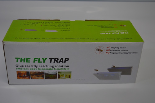 The Fly Trap 11w UV lamp sticky trap system