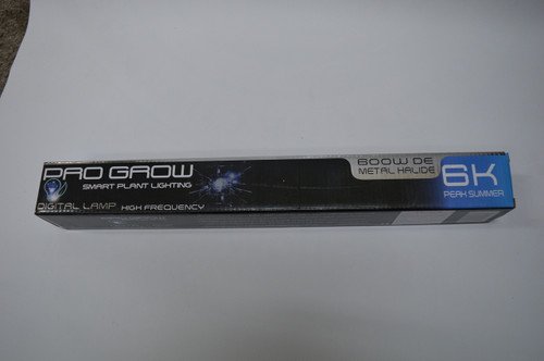 Pro Grow 6K Metal Halide 600w DE Lamp