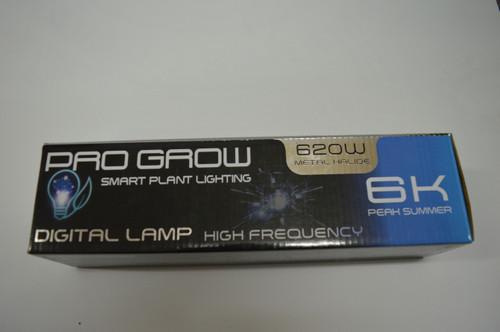 Pro Grow 6K Metal Halide 600w Single ended Lamp