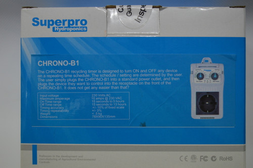 Superpro Chrono-B1 Recycle Timer