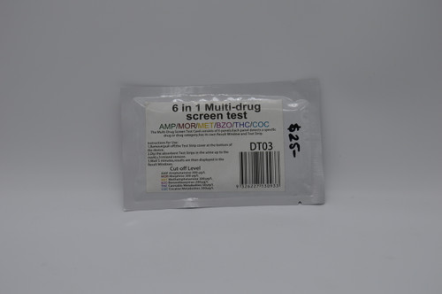 6 in 1 drug test kit