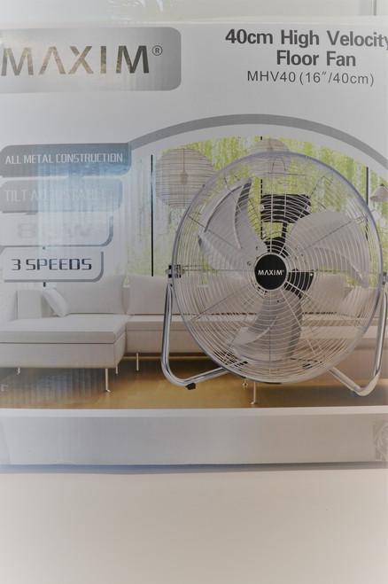 Maxim 40cm Floor Fan