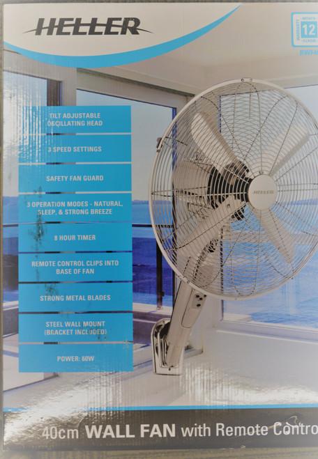 Heller 40cm Wall Fan