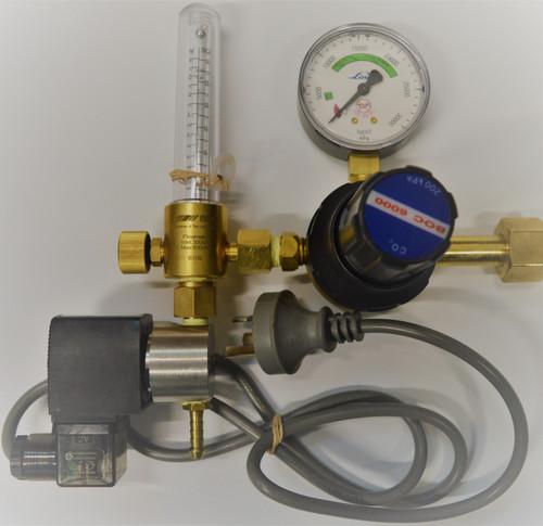 Co2 regulator and Flow Meter