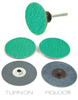 Zirconia Type R Roll-On Style Twist & Lock Discs