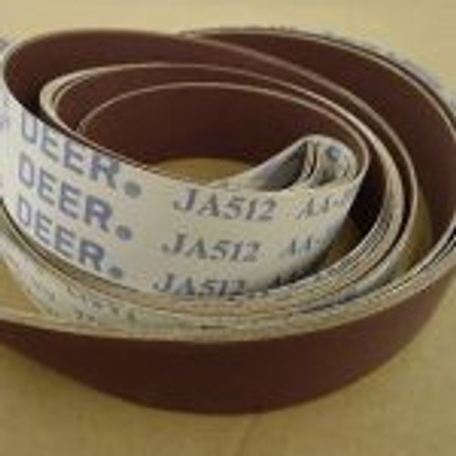Deefos JA512 Flexible Sanding Belts for Metalworking