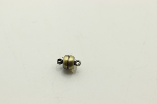 MAGNETIC, Clasp, Antique Bronze Plated (metal alloy), 8mm, 4 per bag