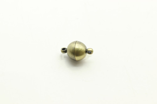 MAGNETIC, Clasp,  Antique Bronze Plated (metal alloy), 10mm, 3 per bag