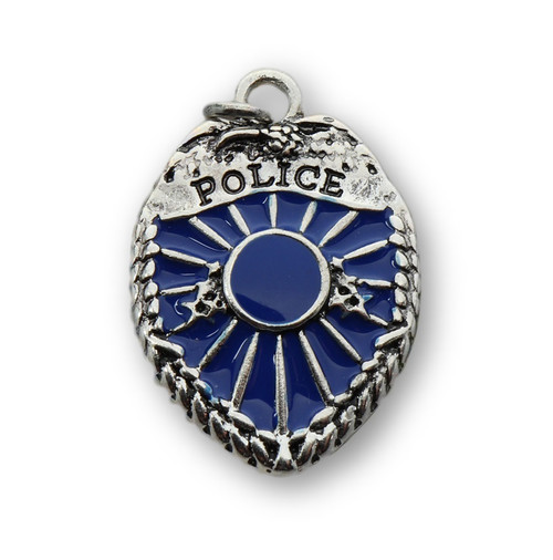 28mm Police Badge