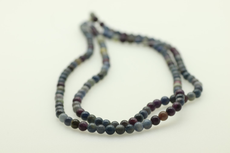 6mm Sapphire, Natural, 6mm Smooth Round