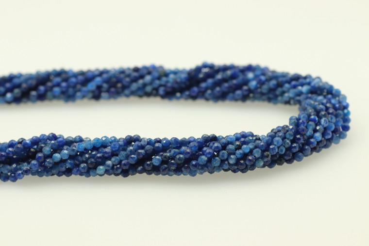 Kyanite, Faceted Round, 3mm