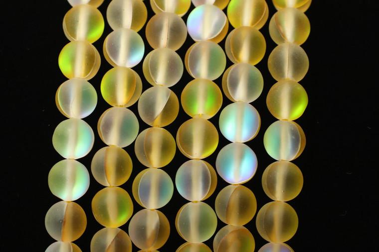 Glowing Glass, Canary Matte, 8mm