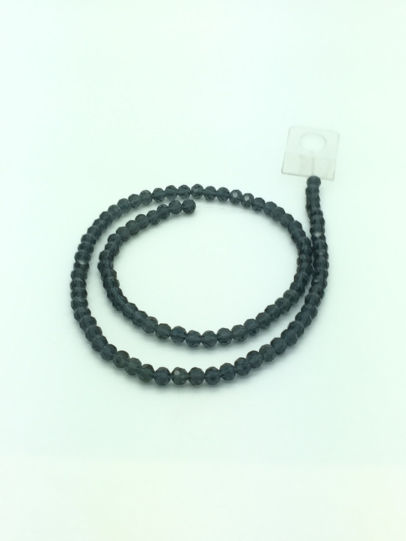 6mm Montana Faceted Round